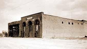 Historic Bird Cage Theatre in the 1920s